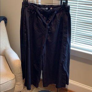 Wide-leg Vince cotton pant